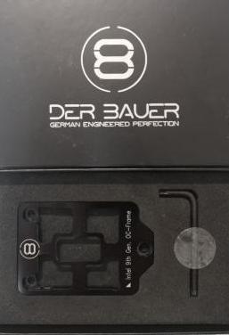 Der8bauer oc frame para intel 9th gen cpu