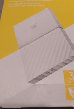 Disco duro externo wd 3tb nuevo