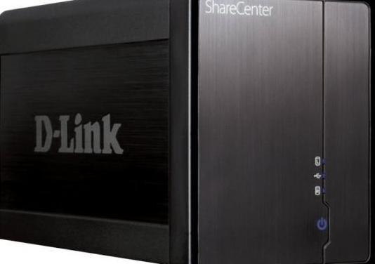 Dlink dns-325 nas. disco multimedia