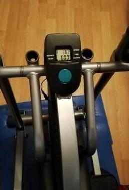 Elíptica máquina deporte