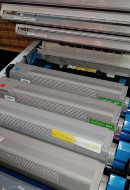 Impresora láser color oki c810