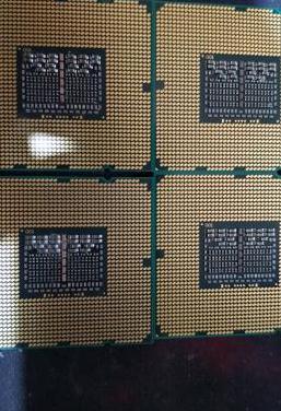 Lote 4 procesadores intel xeon socket 1366
