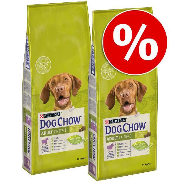 Purina dog chow 2 x 14 kg pienso para perros ¡a precio