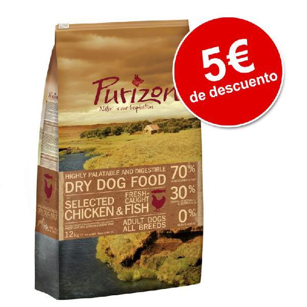 Purizon 12 kg pienso para perros ¡con 5€ de descuento!