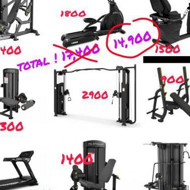 Maquinas de gimnasio pesas