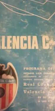 Programas oficiales de valencia f.c.