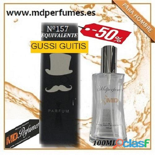 Oferta perfume hombre nº157 gussi guitis alta gama 100ml 10€