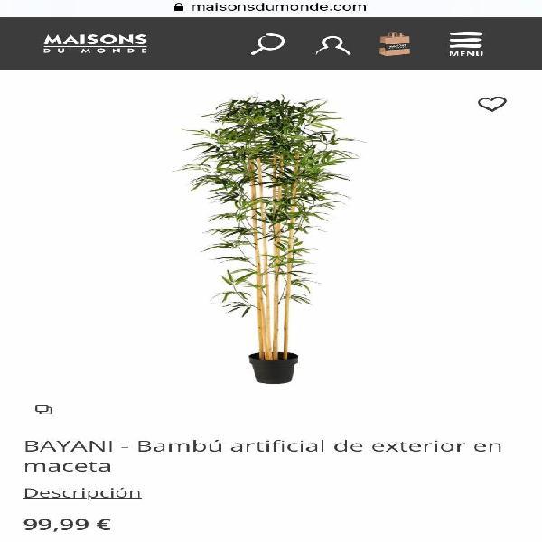 Bambú gigante artificial
