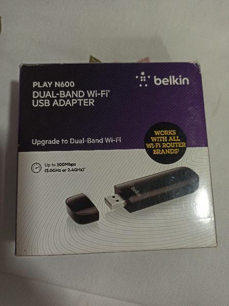 Belkin adaptador wifi play n600 usb