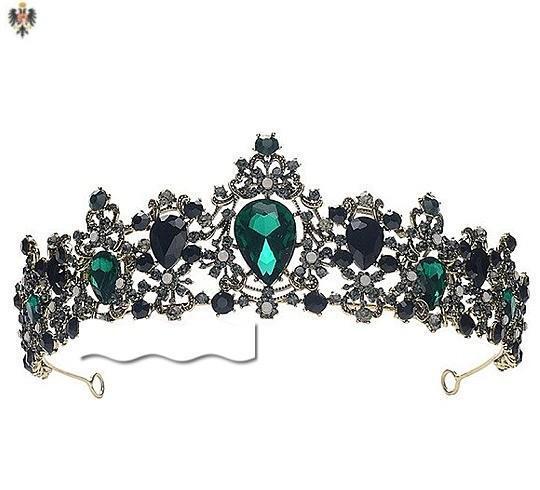 Corona tiara diadema rey princesa medieval.