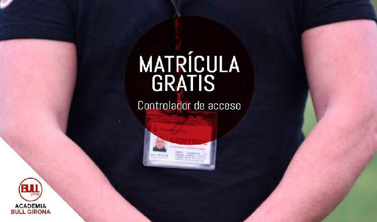 Curso controlador de accesos