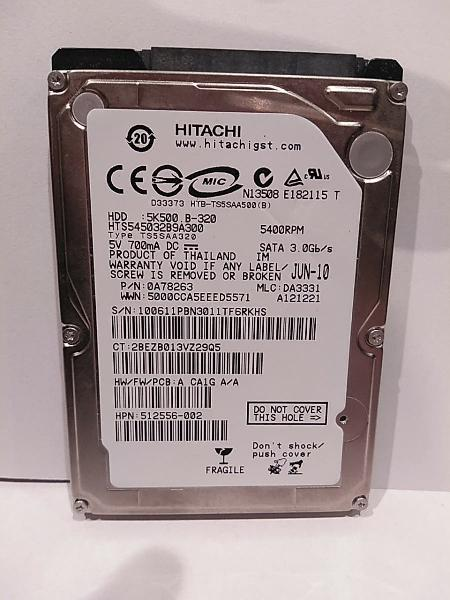 Disco duro dhh 300gb laptop.
