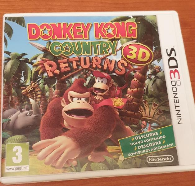 Donkey kong country returns 3ds nintendo