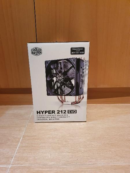 Hyper 212 evo disipador de cpu