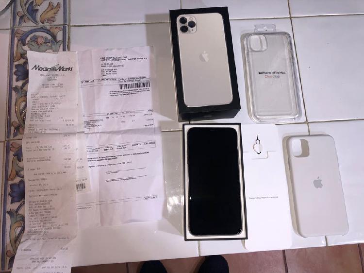 Iphone 11 pro max 256 gb silver nuevo