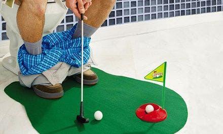 Juego golf para el baño (completo)