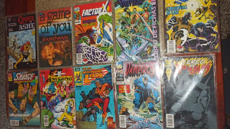 Lote de 51 uds de comics en español