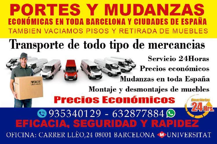 Mudanzas económicas en barcelona