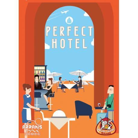 Nuevo perfect hotel juego mesa cartas arrakis