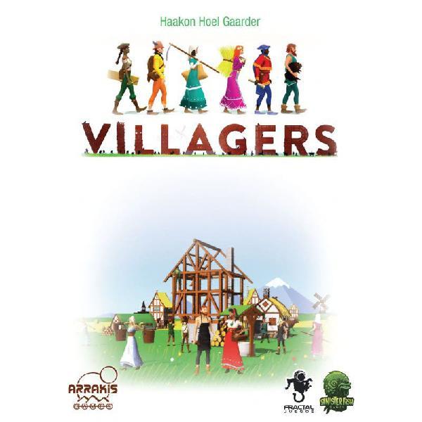 Nuevo villagers juego mesa cartas estrategia