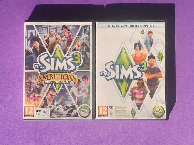 Pack the sims 3 + ambitions uk pc