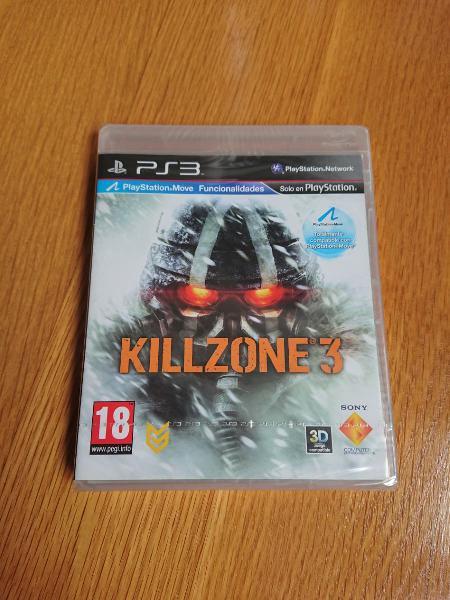 Precintado ps3 killzone 3 pal españa nuevo sony