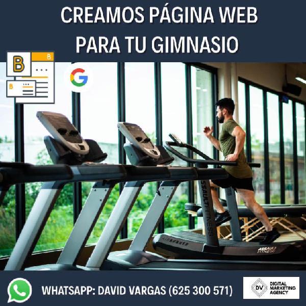 Sitio web y marketing deportivo (gimnasios-clubes)