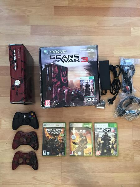 Xbox360 gears of war 320 gb limited edition