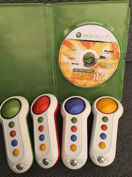 Xbox360 juego scene it+ pulsadores