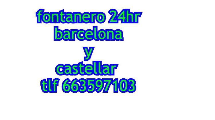 Fontanero castellar del valles y barcelona 24hr