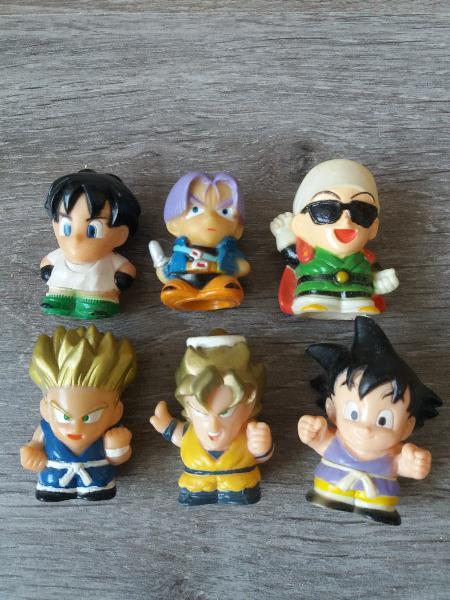 Lote 6 dragon ball miniaturas japonesas sin uso