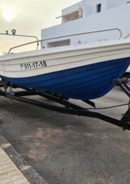 Barco marca felco, modelo neptuno 4,30