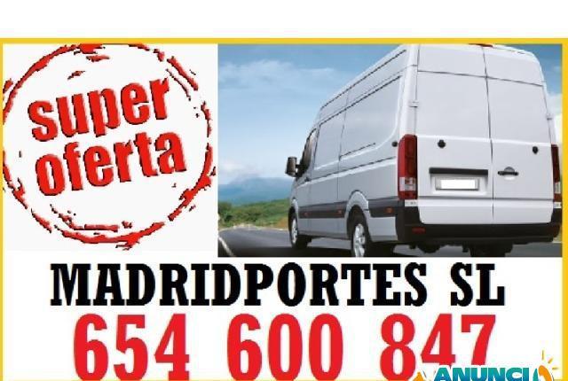 Contactar servicio de portes baratos ascao - madrid