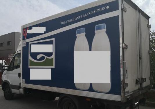 Camion iveco frigorifico