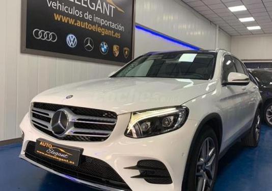 Mercedes-benz clase glc glc 220 d 4matic amg line
