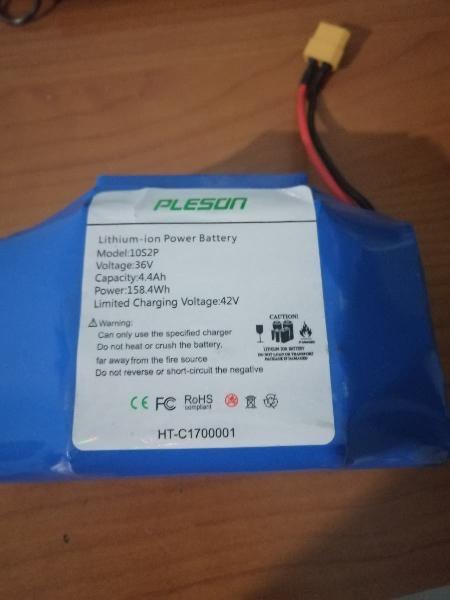 Bateria litio 36v 4400mah