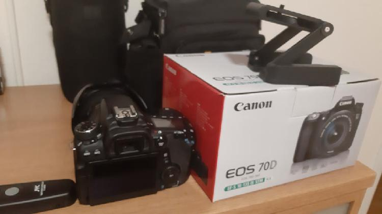 Canon 70 y objetivos