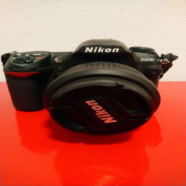 Cámara de fotos nikon d200