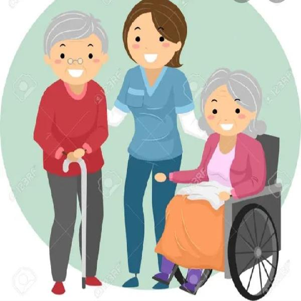 Empleada de hogar.cuidado de ancianos