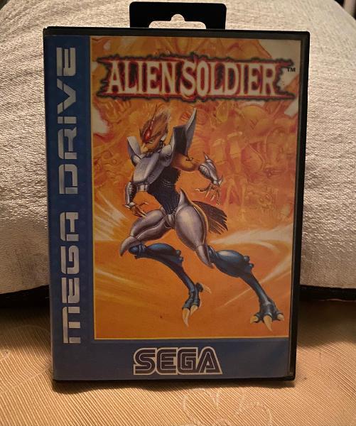 Juego sega mega drive alien soldier