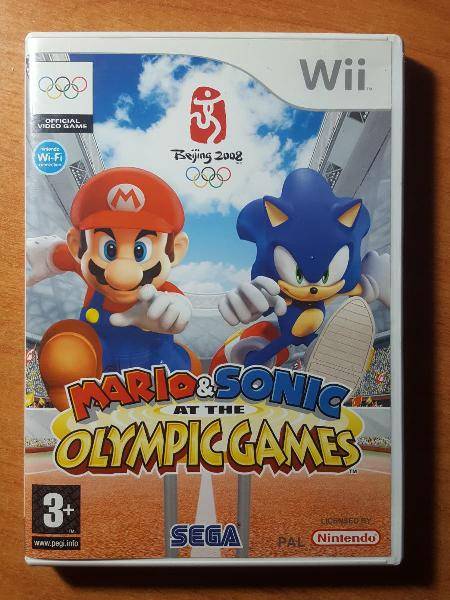 Juego wii 'mario & sonic at the olympic games'