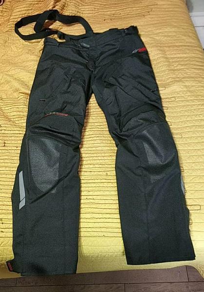 Pantalón moto alpinestars andes drystar xl