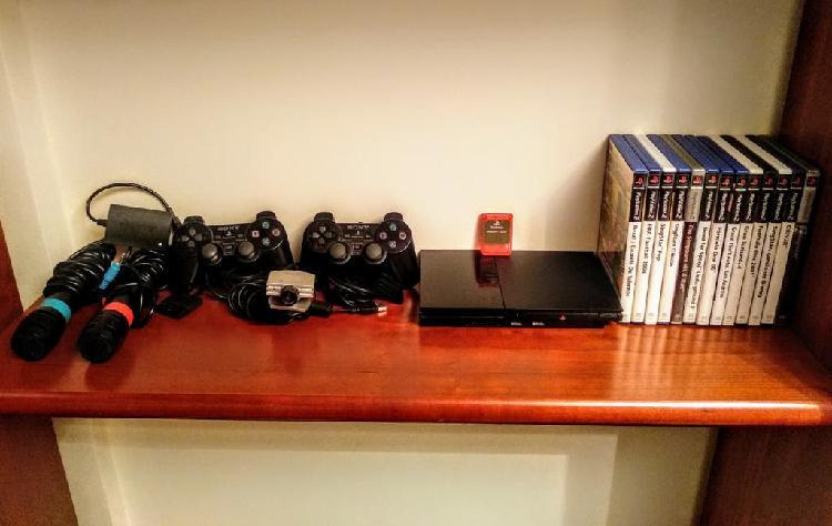Playstation 2 + juegos y accesorios