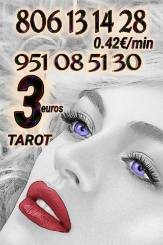Solo 3 euros tarot y videncia fiables 806 económico