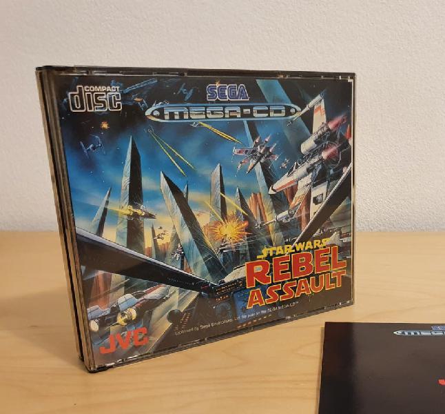 Sega mega cd - star wars completo.