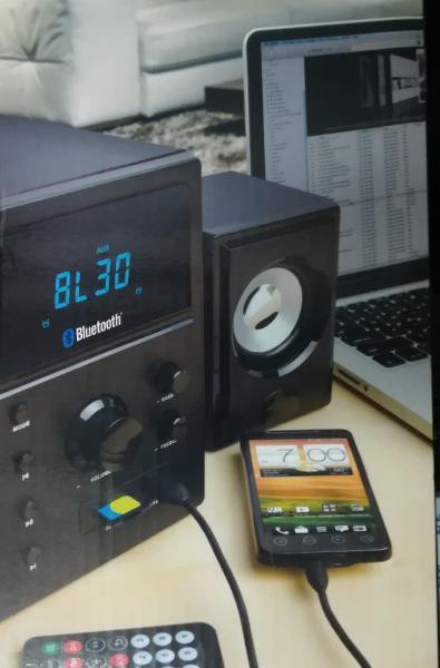Sistema de audio bluetooth - silvano 20sl18