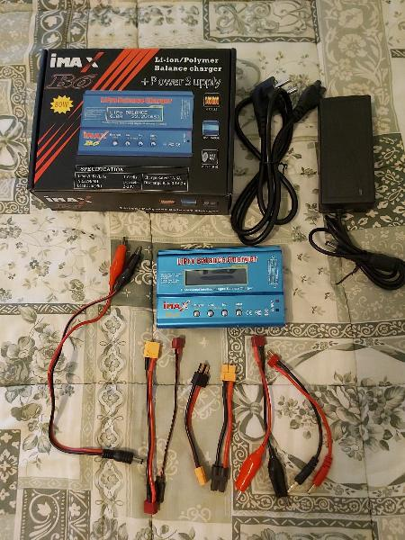 Cargador /descargador baterías.