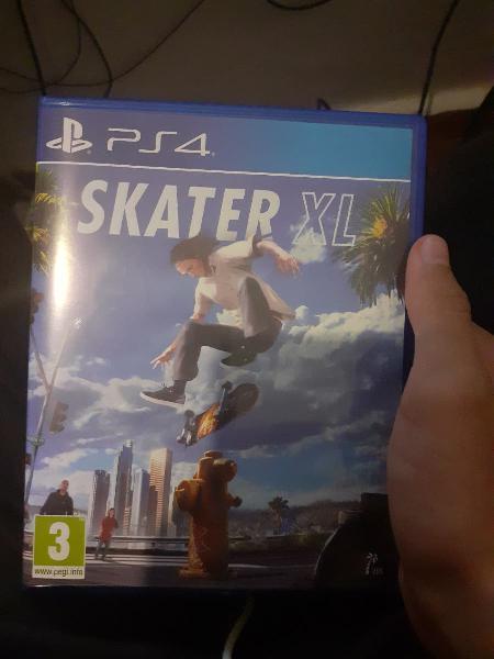 Juego ps4 (skater xl)
