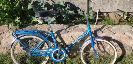 Bicicleta bh plegable clásica vintage