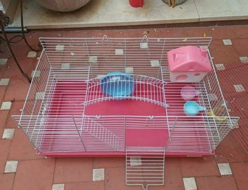 Jaula hamster accesorios